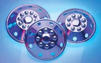 RV Stainless Wheel Covers