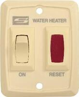 Switch Water Heater Gas Ignite - Cream