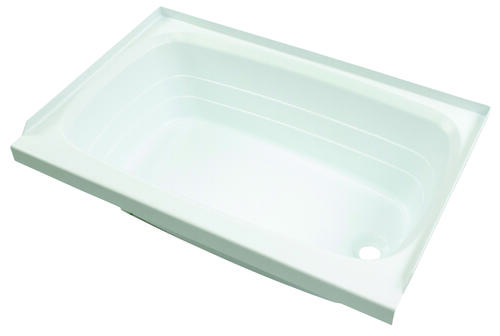 "Bathtub with Right Drain; 24"" x 36"" (White) Image 1"
