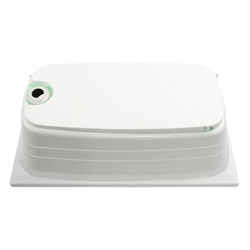 "Bathtub with Left Drain; 24"" x 40"" (White) Image 1"