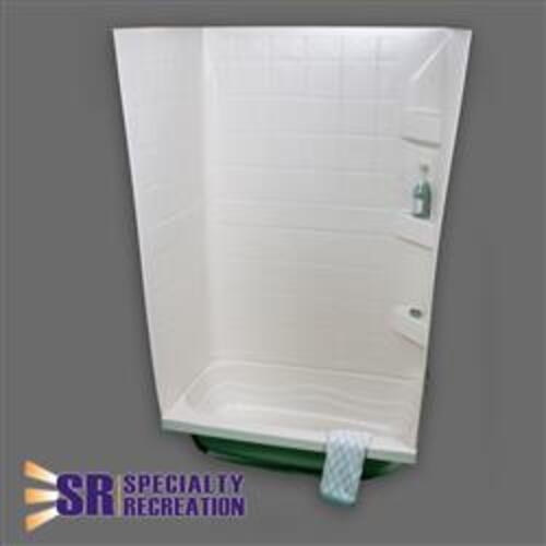 SHOWER OR TUB WALL 59 X 24 X 32 WHITE Image 1