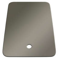 "Small Sink Cover; 25"" x 19"" (Stainless Steel Color) Image 1"
