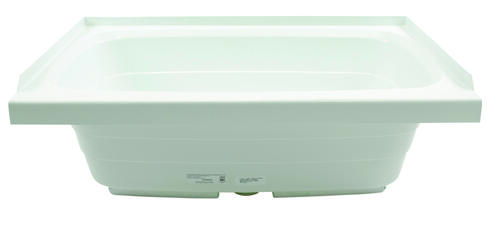 "Bathtub with Center Drain; 24"" x 36"" (White) Image 1"