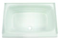 "Bathtub with Center Drain; 24"" x 36"" (White) Image 3"