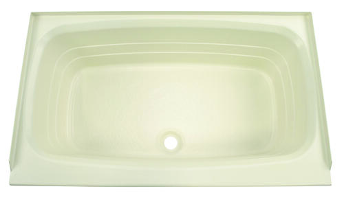 "Bathtub with Center Drain;  24"" x 40"" (Parchment) Image 1"