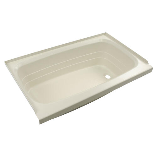 "Bathtub with Right Drain; 24"" x 40"" (Parchment) Image 1"