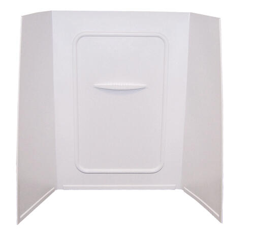 "Bathtub Wall Surround; 24"" x 36"" x 62"" (White) Image 1"