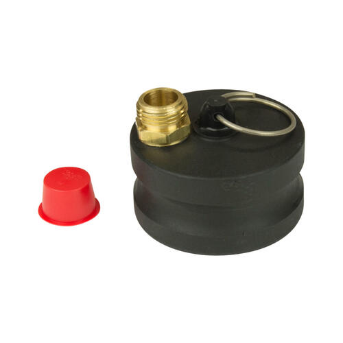 Male Cam Lock Garden Hose Adapter Image 1