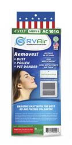 Air Conditioner Filter By RV Air, Use With Coleman RV Air Conditioners