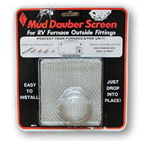 Mud Dauber Screen fits Hydroflame 8500 Series Furnaces - M500
