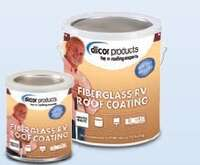 Dicor Fiberglass RV Roof Coating Image 1