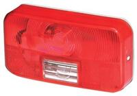 #92 Red Tail Light with Bracket