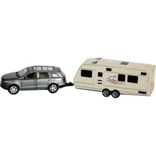 SUV & TRAILER ACTION TOY Image 1
