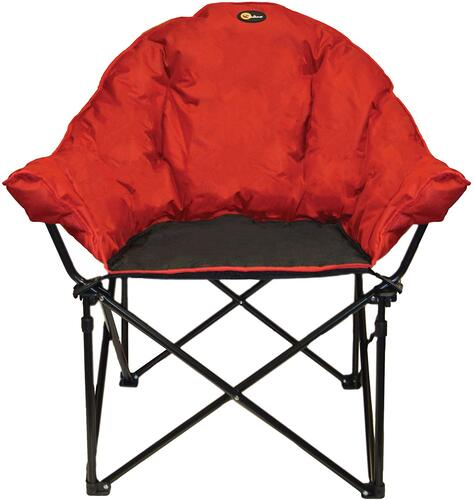 Faulkner 49579 Big Dog Bucket Chair, Burgundy/Black Image 1