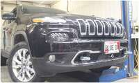 Blue Ox BX1138 Base Plate Jeep Cherokee Image 1