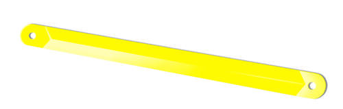 Yellow Support Arm - Power Stabilizer Image 1