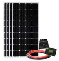Go Power AE-4 760-Watt Solar Panels with MPPT Solar Controller Image 1