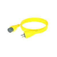 50' Cordsets 15A ? Yellow Image 1
