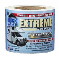 "?Quick Roof Extreme For RV's 4"" x 25' - Tan"