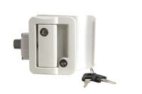 Global Travel Trailer Latch - White Image 1