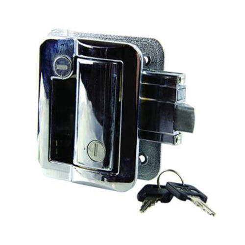 Entry Door Latch Kit - Chrome Image 1