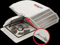 Maxxair Vent Fanmate Cover with EZ Clip Image 1