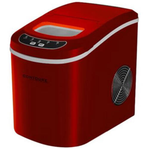 72-1388 - Portable Ice Maker, Red, - Image 1
