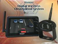 "Voyager WVOS43 4.3"" Digital Wireless Observation System with WiSight Technology Image 1"