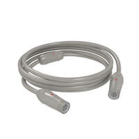 Coaxial TV Cable - 25' (Titanium Grey) Image 1