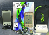 TireMinder TM22123 TPMS for RVs - LCD Monitor - 6 Sensors And Hard Wired Signal Boosters Image 1