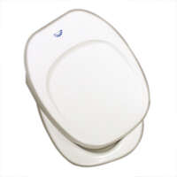 28584 - Square Toilet Seat - Closed Front - White - Image 1