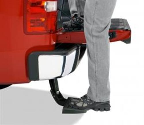 BedStep Retractable Bumper Step for Ram Pickup Truck Models Image 1