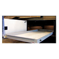 92-5056 - RV Cargo Slide Tray - 29 X 90 - Fully Assembled With Floor - Image 1