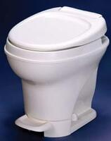 Foot Flush, High Profile, Parchment w/Water Saver