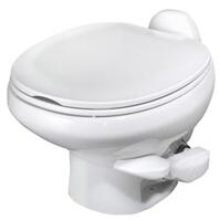 Style II China Toilet, Low Profile, White