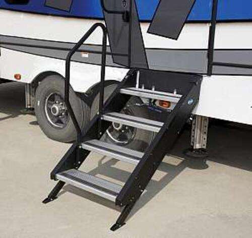 "STEPABOVE TRAILER STEPS - 4-STEP, 27"" DOOR"
