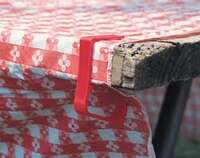 Tablecloth Clamps-Red 4cd