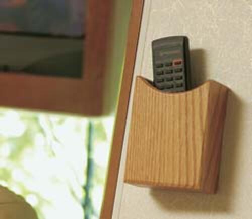 Remote Holder-Oak