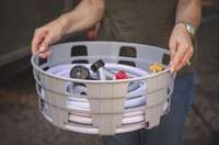 WATER HOSE CADDY - FOR WATER HOSE AND POWER CORDS 01.1160