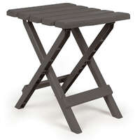 03.0670 - Adirondack Table - Foldable - Charcoal - Plastic - Image 1