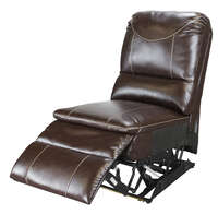 Armless Recliner - Momentum Series (Jaleco Chocolate) Image 1