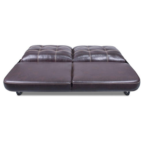 "68"" Jackknife Sofa, Melody Walnut Image 1"
