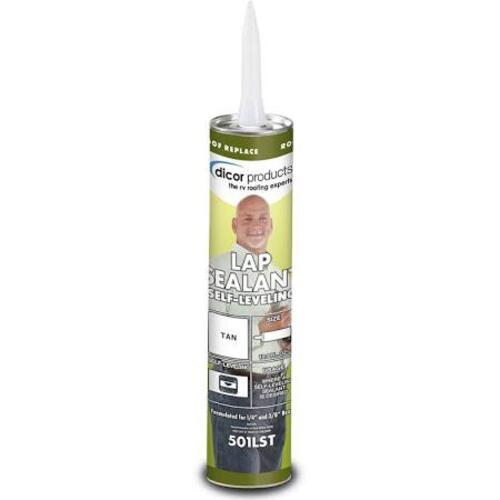 Self-Leveling Lap Sealant, Tan Image 1