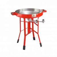 FIREDISC DEEP PAN COOKER - 24IN HIGH - RED