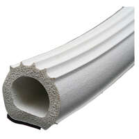 38-0087 - Door Window Channel Seal - Ribbed Foam D Seal - Image 1