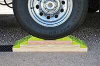?THE HOPKINS ENDURANCE RV LEVELING KIT WITH WHEEL CHOCK
