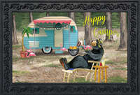 Happy Camper Bear Doormat CC7575