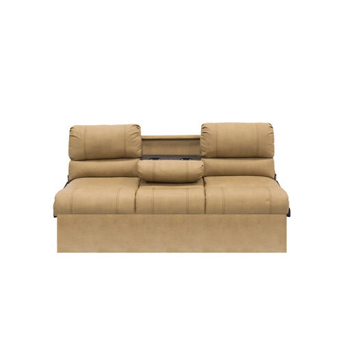 "68"" Jackknife Sofa in Oxford Tan Image 1"