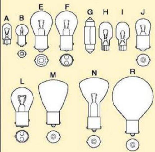 12 Volt Light Bulbs Fluorescent Tubes for RVs   14673