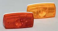 Miroflex Clearance Light #349 - Red - Surface Mount